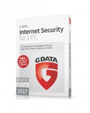 G DATA Internet Security 2017 1 PC 1 Jahr Win, Deutsch