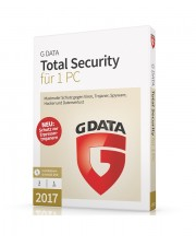 G DATA Total Security 2017 1 PC 1 Jahr Win, Deutsch