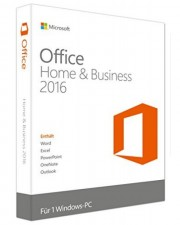 Microsoft Office 2016 Home and Business PKC Win, Deutsch