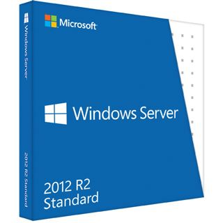 Microsoft Windows Server 2012 R2 Standard, Hyper-V, 64 Bit, 2 CPU/2 VM, SB/OEM, Win, Deutsch