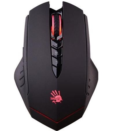 A4Tech Maus Bloody Gaming R80 Wireless color - Metal Feet