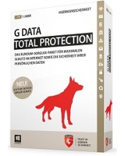 G Data TotalProtection 2015 1 User 1 Jahr, Win, Deutsch