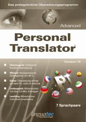 Linguatec Personal Translator 14 Advanced, Win, Deutsch