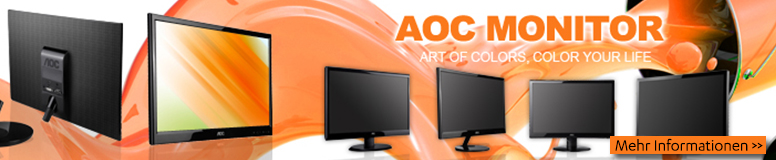 AOC Displays Monitore TFT LCD & Digital Signage Modelle