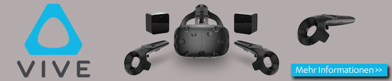HTC Vive VR Brille / Gaming-3D-Brille Hardware Produkte