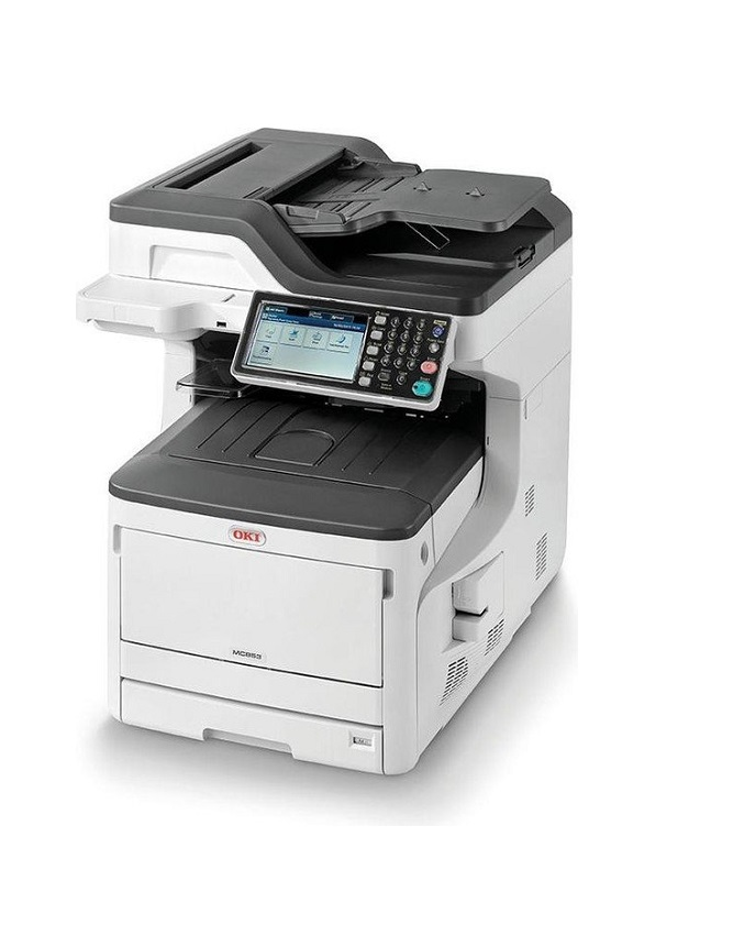 OKI MC873DN Multifunktionsdrucker Farbe LED A3 A4 USB 2.0, Gigabit LAN, USB-Host