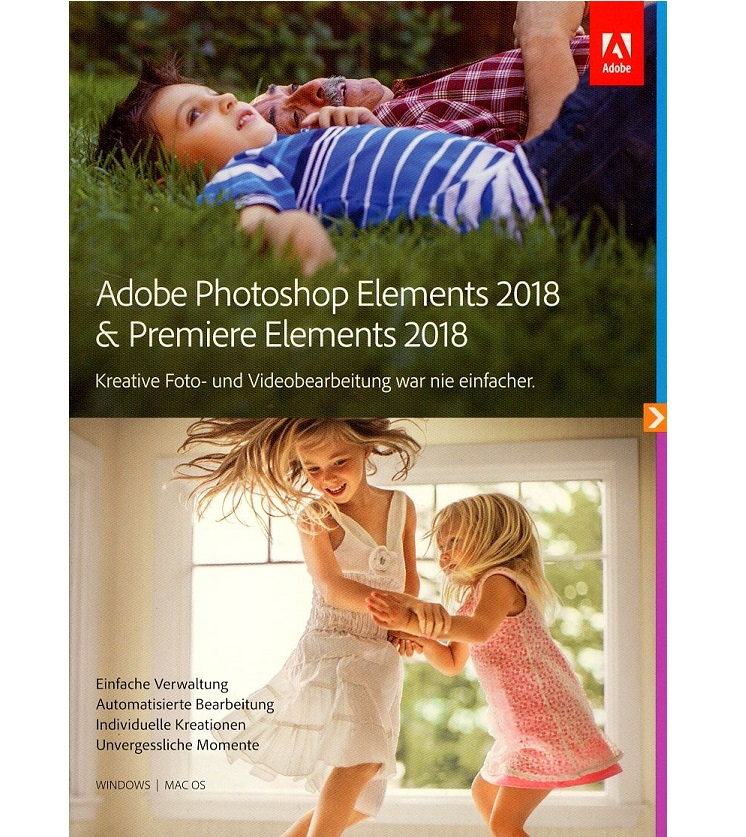 Adobe Photoshop Elements & Premiere 2018 Win/Mac, Deutsch