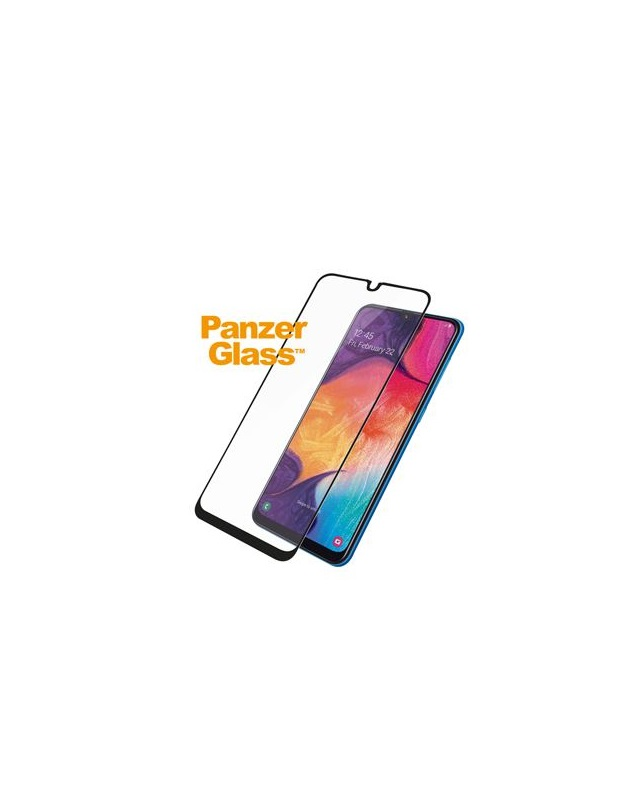 PanzerGlass s Samsung Galaxy A30/A50 Case Friendly Black Edge-to-Edge Super+