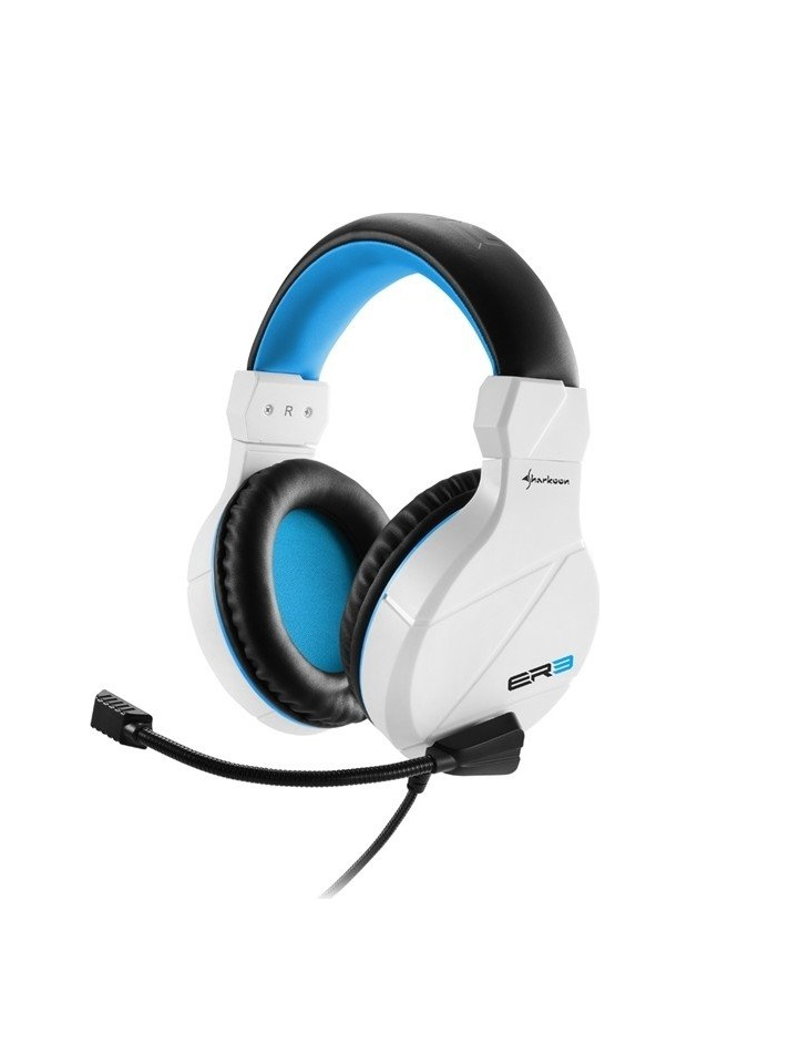 Sharkoon Headset Rush ER3 2.0 Klinke Gaming white Audio