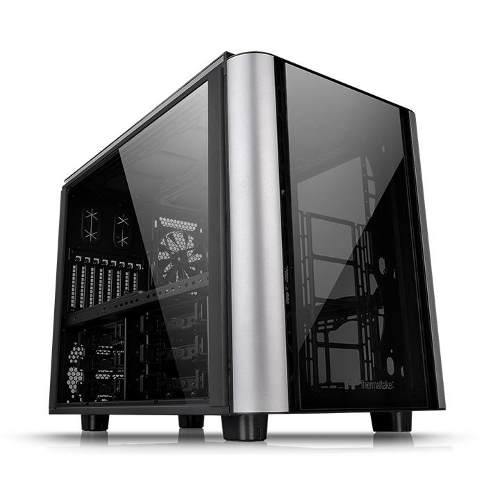 "Thermaltake Tt Level 20 XT bk Cube-Gehäuse ATX 3,5 "" USB 3.0 (CA-1L1-00F1WN-00)"