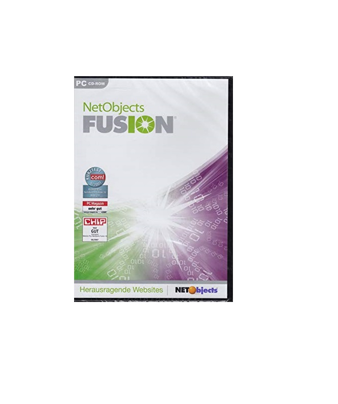 NetObjects Fusion 10 Win Englisch (UK-21250)