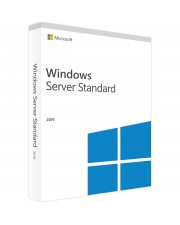 Microsoft Windows Server Standard 2019 64Bit 16 Core DVD SB/OEM, Deutsch