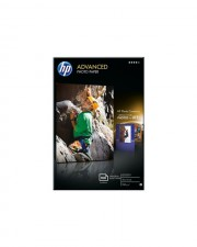 HP Advanced Glossy Photo Paper Fotopapier glänzend 100 x 150 mm 250 g/m2 Blatt für Deskjet 2050 J510 Envy D410 11X D411 Officejet 7500A E910 Photosmart 55XX B111 (Q8692A)