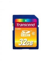 Transcend Flash-Speicherkarte 32 GB Class 10 SDHC