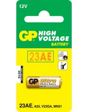 GP Battery Super Alkaline 23A Batterie Alkalisch Ultra V23GA MN21 1er Blister MS21/MN21 12V/55mAh (10023AC1)