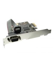 InLine Serieller Adapter PCIe Low-Profile RS-232