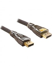 Delock Video- / Audiokabel DisplayPort M M 3m Anthrazit