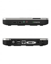 NComputing N500 Thin Client USFF Cortex-A9, RAM 512 MB, kein HDD, GigE, Monitor : keiner (500-0130)