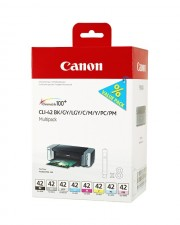Canon CLI-42 Multipack BK/GY/LG/C/M/Y/PC/PM Tintenpatrone
