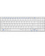 Rapoo Wireless Ultra-slim Keyboard E9070 Tastatur drahtlos 2.4 GHz weiß