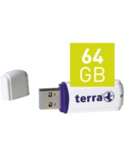 Terra Wortmann USThree USB-Flash-Laufwerk 64 GB
