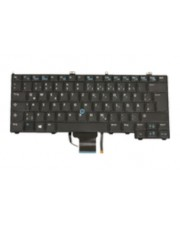 Dell Tastatur Notebook-Ersatzteil Keyboard German Black