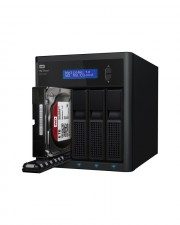 WD My Cloud EX4100 WDBWZE0160KBK NAS-Server 16 TB HDD 4 TB x 4, 5 Hot Spare, Gigabit Ethernet, iSCSI (WDBWZE0160KBK-EESN)