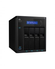 WD My Cloud EX4100 WDBWZE0240KBK NAS-Server 24 TB HDD 6 TB x 4, 5 Hot Spare, Gigabit Ethernet, iSCSI (WDBWZE0240KBK-EESN)
