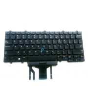 Dell Notebook keyboard Notebook-Ersatzteil German Black
