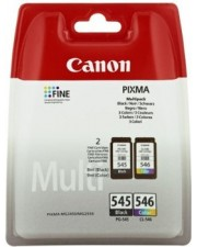 Canon PG-545XL/CL546XL Tintenpatrone Original Schwarz 15 ml photo value (8286B006)