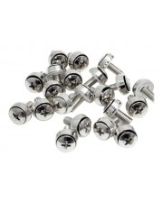 StarTech.com M6 x 12mm Mounting Screws for Server Racks 100 Pack Schrauben-Kit Packung mit
