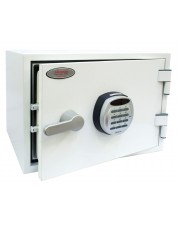 Phoenix 19l Stahl Weiß Safe Titan Size 1 Fire & Security with Electronic Lock (FS1281E)