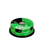 Intenso 25 x DVD-R 4.7 GB 16x Spindel (4101154)
