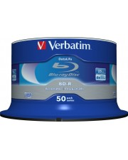 Verbatim 25GB BD-R 50Stücke Leere Blu-Ray Disc SL Datalife 6x 50 Pack Spindle