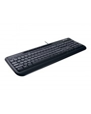 Microsoft Wired Desktop 600 for Business Tastatur-und-Maus-Set USB Deutsch Schwarz