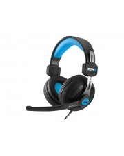 Sharkoon Rush ER2 Headset Full-Size Blau