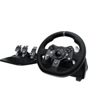Logitech G920 Reifen + Pedale Xbox One Schwarz Racing Wheel for and PC (941-000124)