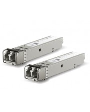 UbiQuiti U Fiber Multi-Mode SFP Mini-GBIC-Transceiver-Modul 10 Gigabit Ethernet 2er Pack (UF-MM-10G)