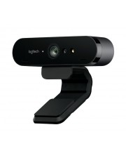 Logitech WebCam BRIO 4K Ultra HD 30 fps 90° FOV 5x digital zoom HDR Schwarz