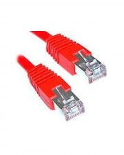 Digital Data Communications Patch-Kabel RJ-45 M M  0.5m gepresst verseilt rot