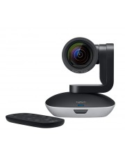 Logitech PTZ PRO 2 Schwarz Grau 30fps 580 g H.264 UVC 1.5 with Scalable Video Coding SVC HD 1080p