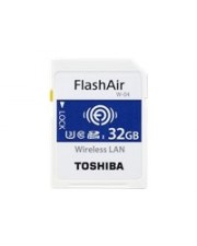 Toshiba FlashAir W-04 Wireless-Speicherkarte 32 GB UHS-I U3 / Class10 SDHC Wi-Fi