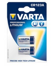 Varta Photo Lithium Batterie CR123A Li 1600 mAh Batterry 1600mAh (06205301402)