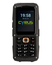 "Cyrus Technology CM8 Solid DualSIM Outdoor Smartphone 2"" 5.1 cm 128 MB Bar Robust Schwarz"