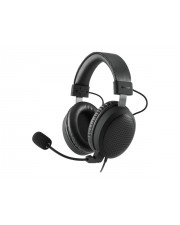 Sharkoon B1 Headset Full-Size verkabelt 3,5 mm Stecker Jet Black