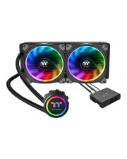 Thermaltake Floe Riing RGB 280 TT Premium Edition Flüssigkühlsystem für CPU im Waterblock-Design LGA1156 Socket AM2 AM2+ LGA1366 AM3 LGA1155 AM3+ LGA2011 FM1 FM2 LGA1150 LGA2011-3 LGA1151 AM4 LGA2066 Kupfer 140 mm (CL-W167-PL14SW-A)