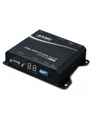 Planet AV-Receiver Schwarz Audio-/Video-Leistungsverstärker High Definition HDMI Extender Receiver over IP with PoE (IHD-210PR)