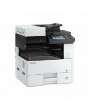 Kyocera ECOSYS M4132idn 1200 x 1200DPI Laser A4 32Seiten pro Minute 4-in-1 MFP 32ppm USB 2.0 and Gigabit network interface Host 100 sheet MP tray + 500 standard cassette paper capacity 1600 sheets max