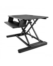 StarTech.com Sitz- und Steharbeitsplatz für Desktop-PCs Sit Stand Desk Converter For two Monitors up to 24in or One 30in 35in Work Surface Up