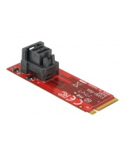 Delock Adapter M.2 Key M > SFF-8643 NVMe vertical Schnittstellenadapter U.2 Card
